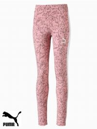 Junior Puma 'Classic AOP' Leggings (580292-14) x8 (Option 1): £6.95